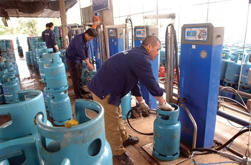 Cooking gas plant