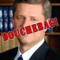 Steven Harper - Douchebag!