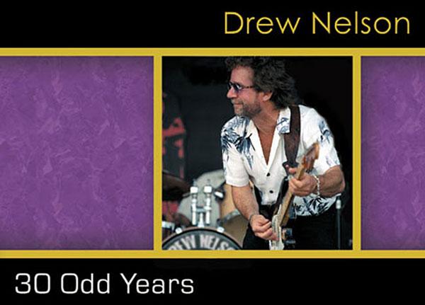 Drew Nelson - 30 Odd Years - CD cover