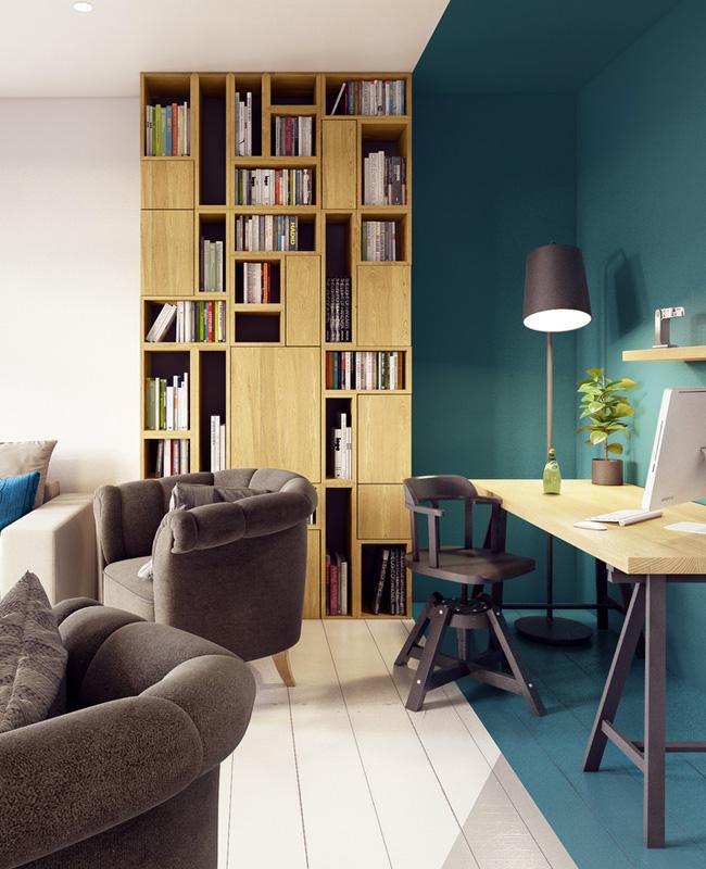 Bureau Bleu Canard Idees Deco Et Inspirations My Blog Deco