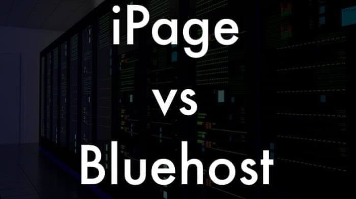 iPage vs. Bluehost