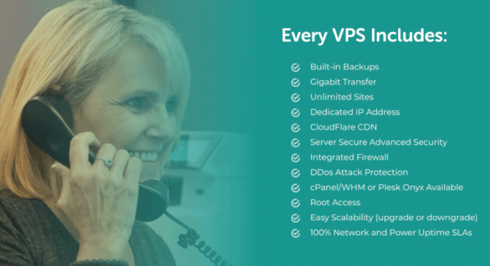 Liquid Web's VPS features