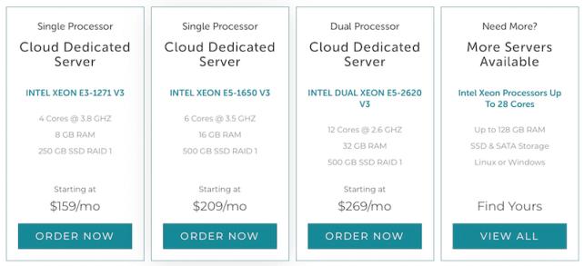 Cloud Dedicated Servers