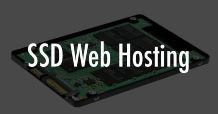 SSD Web Hosting Options