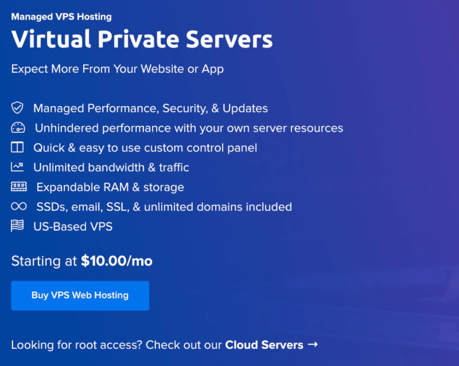 Unlimited Bandwidth VPS Hosting