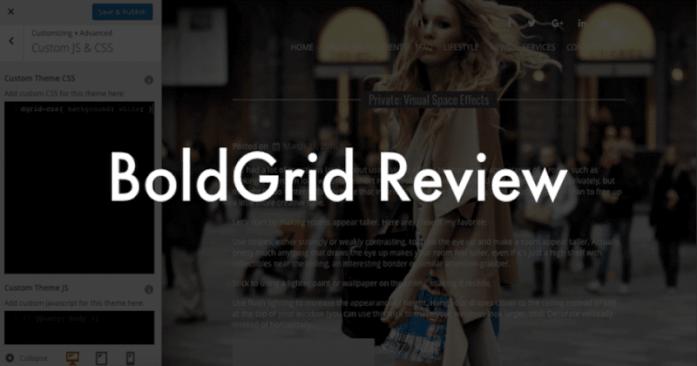 BoldGrid Review