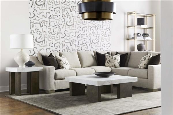 Corner Sectional in Modern Living Room
