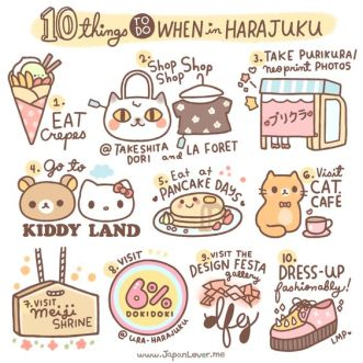 10 things to do in Haranjuku by Japanlover.me