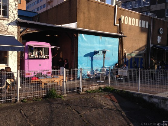 Food truck in Yokohama