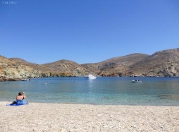 St.Nicolas beach on a quiet day