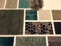 Material palette for rugs at Kymo
