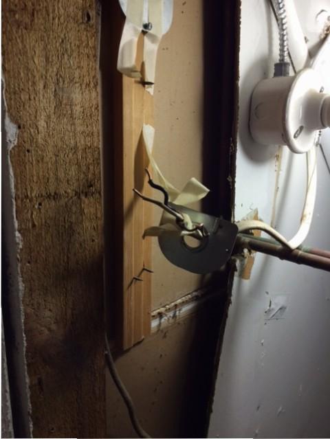 water heater wires
