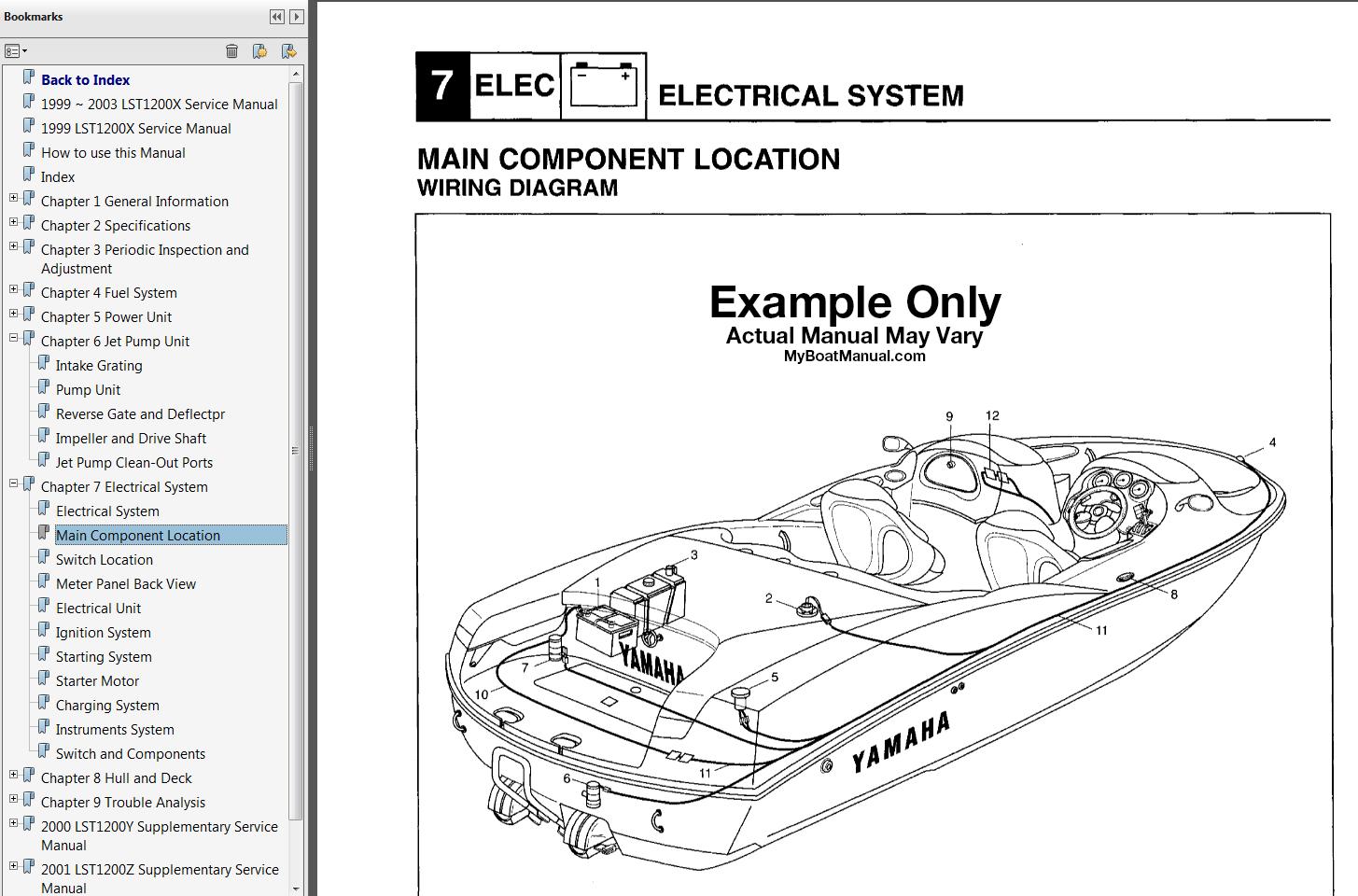 Yamaha Ls2000 Wiring Diagram | Wiring Schematic Diagram on
