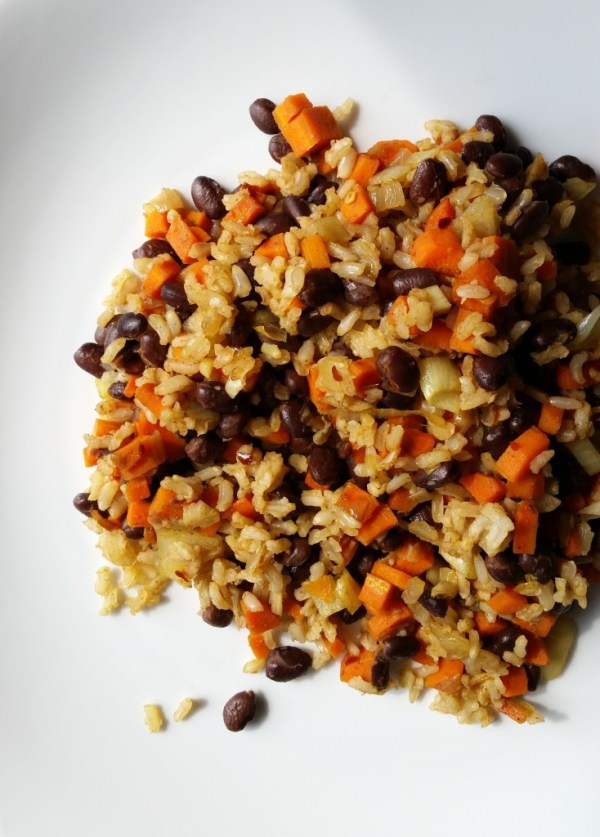 black-beans-carrots-rice