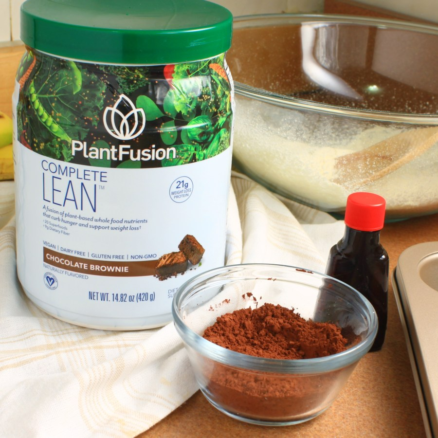 Mocha Chocolata Cupcakes Ingredients (Vegan, Gluten Free) - Plant Fusion