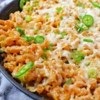 Pulled Chicken Jalapeno Mac and Cheese Meyenberg Goat Milk My Body My Kitchen 5