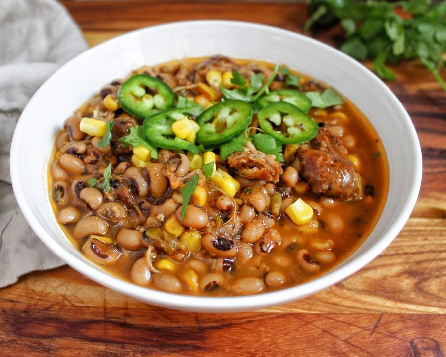 Chicken Black Eyed Pea Chili My Body My Kitchen Farmer Focus