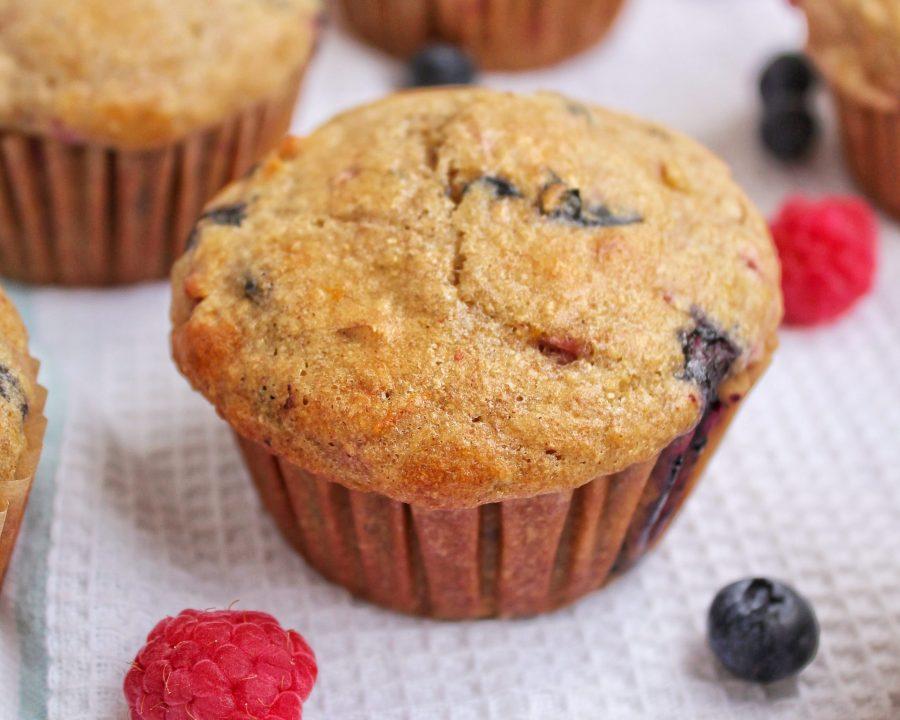 Very Berry Nutty Muffins My Body My Kitchen