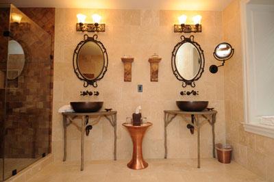 Titania & Oberon bathroom design