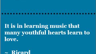 music and love - Ricard