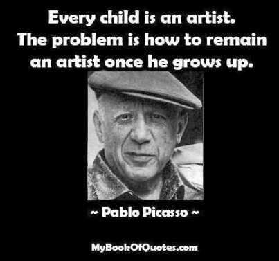 Every Child is an Artist Sign