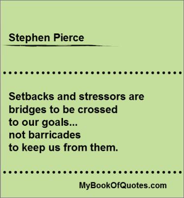 Stephen Pierce Quotes