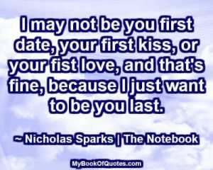 I may not be you first date