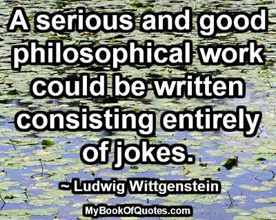 Philosophical work