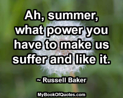 The power of summer