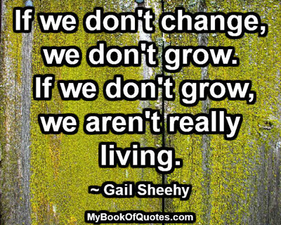 If we don't change