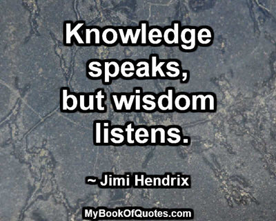 knowledge-speaks