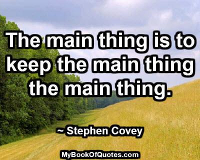 the-main-thing