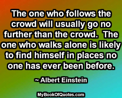The one who walks alone