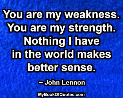 my-weakness-my-strength