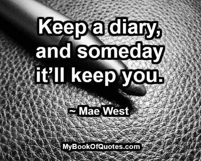 keep-a-diary