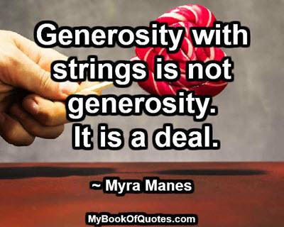 generosity-with-strings