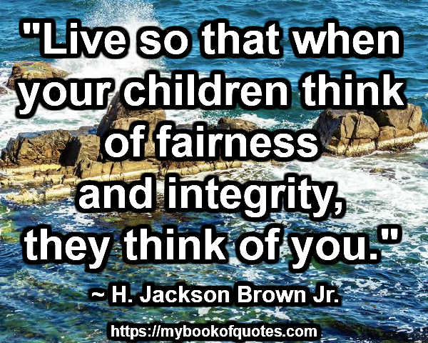 fairness and integrity
