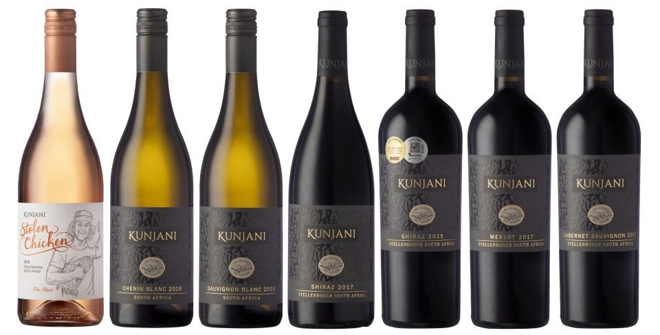 Kunjani new wine labels