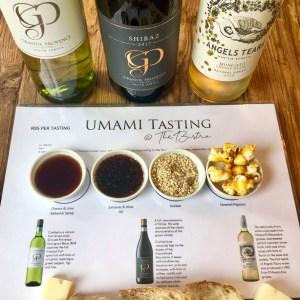 Umami tasting at Grande Provance