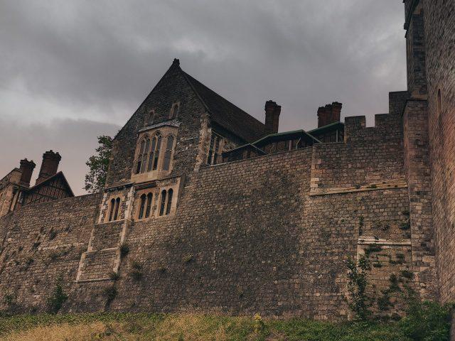 old piece of windsor castle tudor style