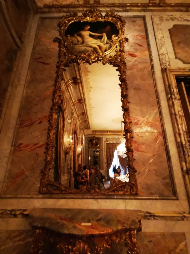 mirror at waddesdon