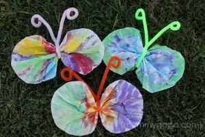 spring craft for toddlers butterflies