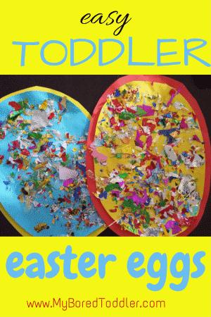 Easter Egg Toddler Craft My Bored Toddler