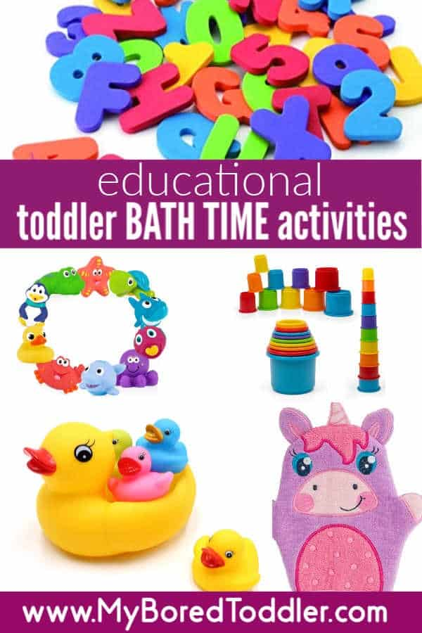 Toddler Activities For Bath Time My Bored Toddler