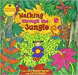 walking through the jungle audio book and book on cd