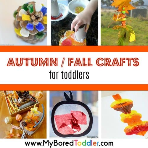 Fall Crafts for Toddlers – fun autumn and fall themed crafts and activities