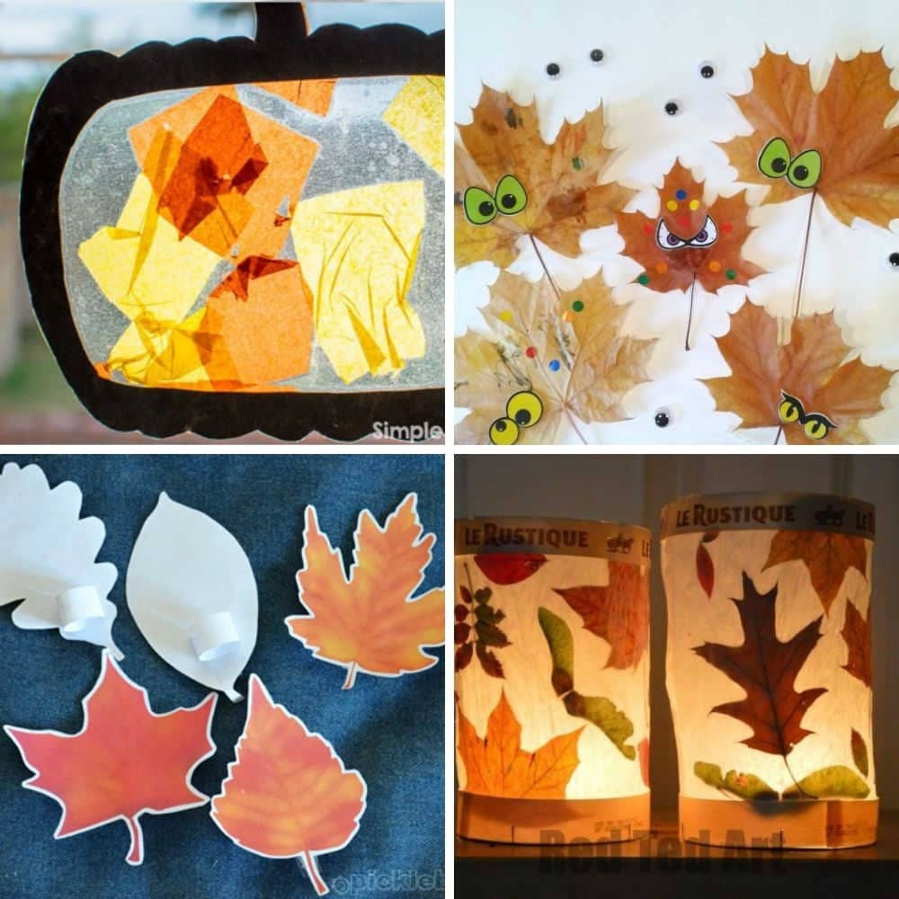 Easy Fall And Autumn Craft Ideas For Toddlers And Preschoolers 1