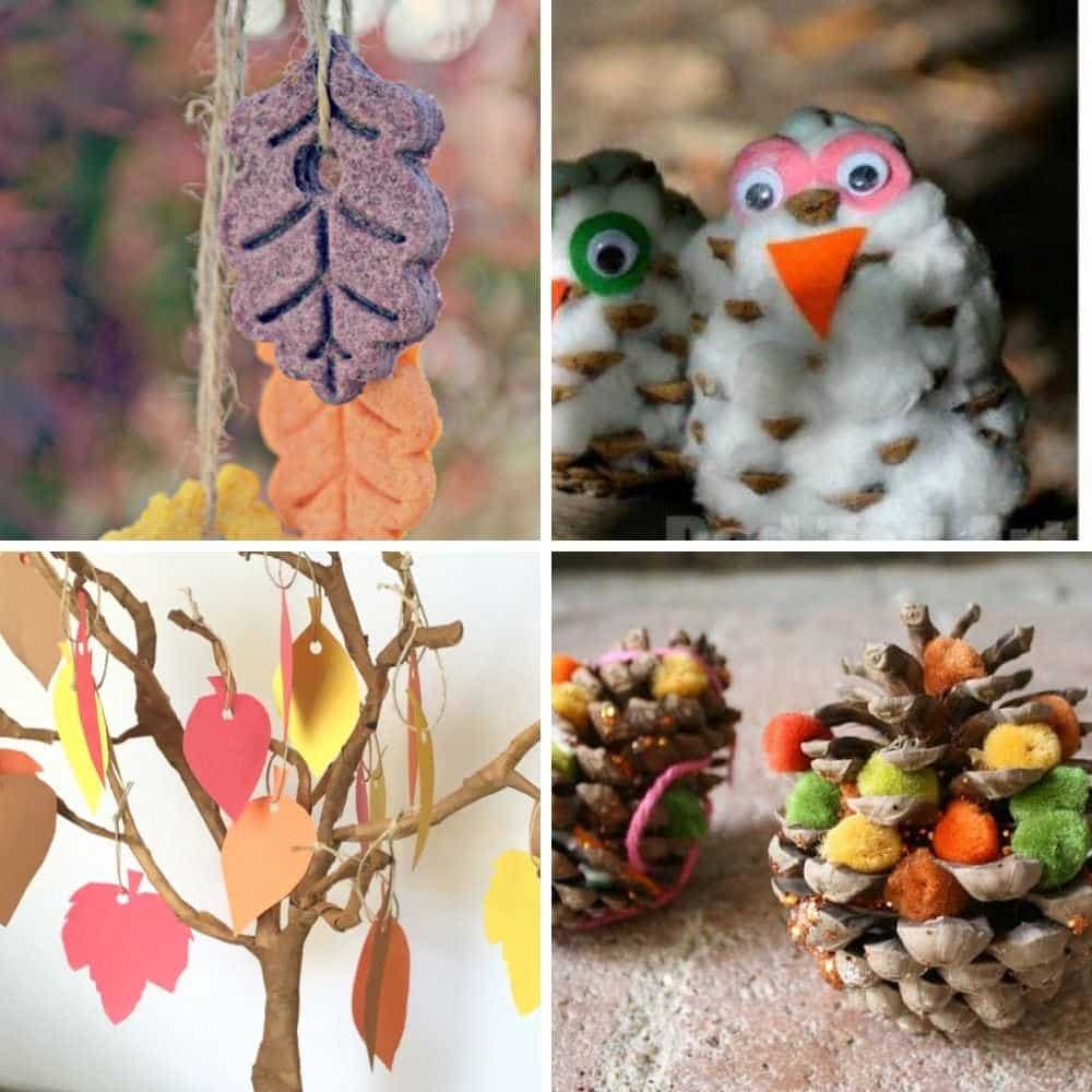 easy fall toddler craft ideas for 1 year olds 2 year olds 3 year olds autumn and fall craft ideas