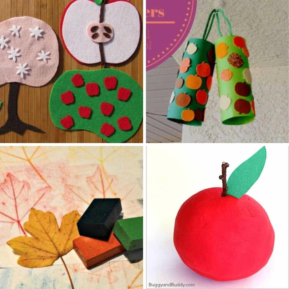 easy toddler fall crafts for toddlers