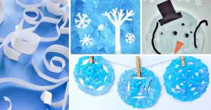 winter crafts for toddler feature